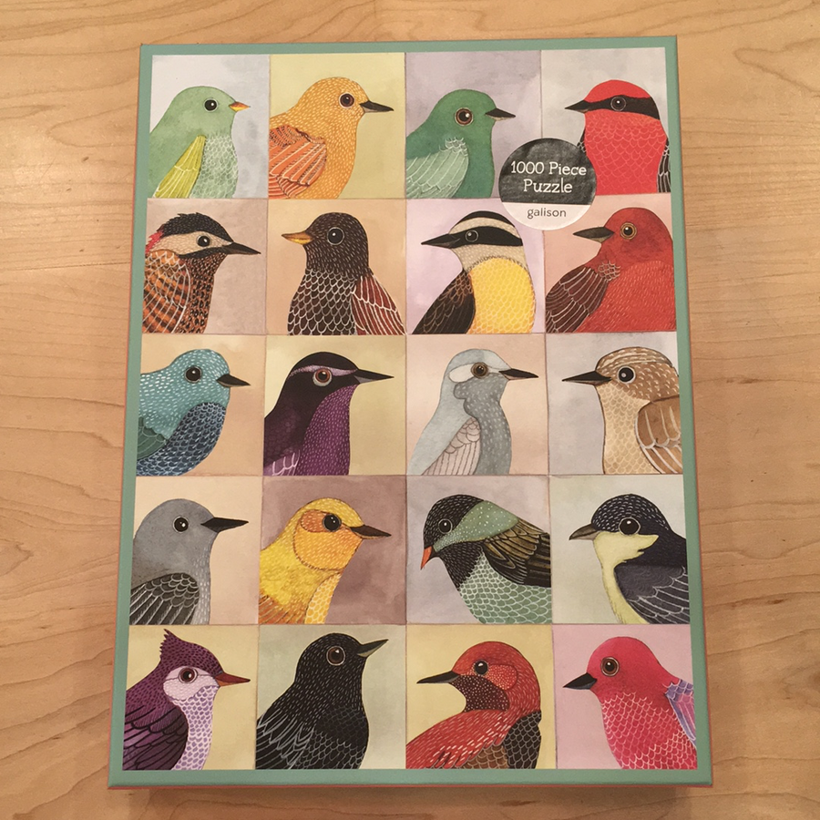 Avian friends 100 piece puzzle