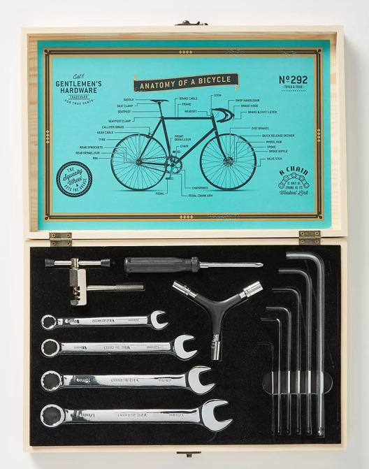Gentleman's Hardware Cyclists Tool Kit