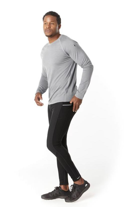 Smartwool Men's Merino Sport Fleece Wind Tight in Black