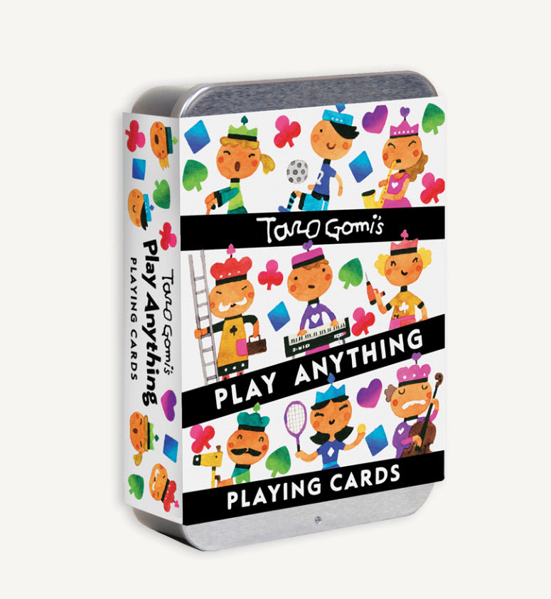 Taro Gomi Play Anything Playing Cards