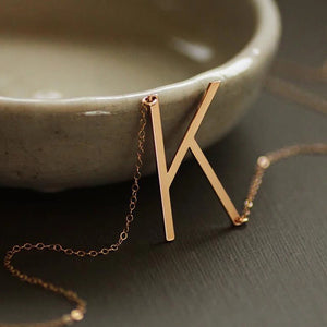 Personalize Letter necklace