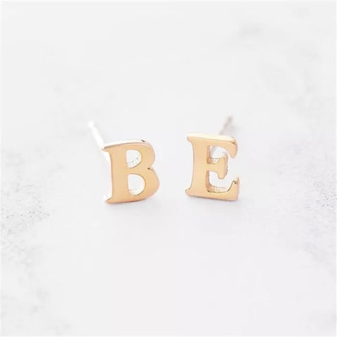 Personalize Letter Earrings