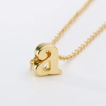 Load image into Gallery viewer, Personalize Letter necklace Dainty