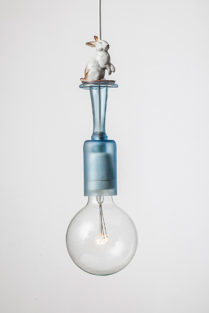 UPCYCLING LIGHT DELUXE ~ L024 ~ BLUE HARE