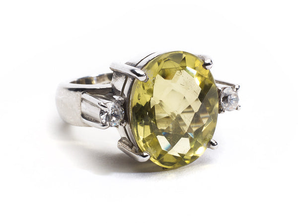 Lemon Opera Ring.