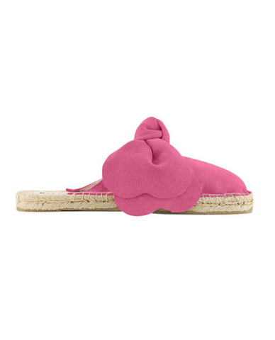 Passion Pink Bow Slippers