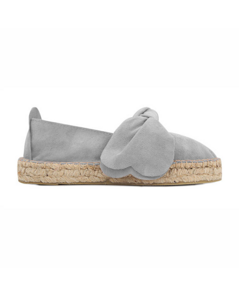 Light Grey Double Sole Espadrilles