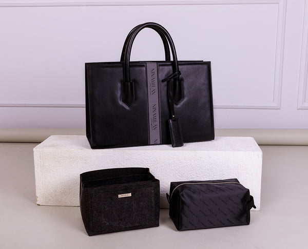Black Dolly Tote Bag