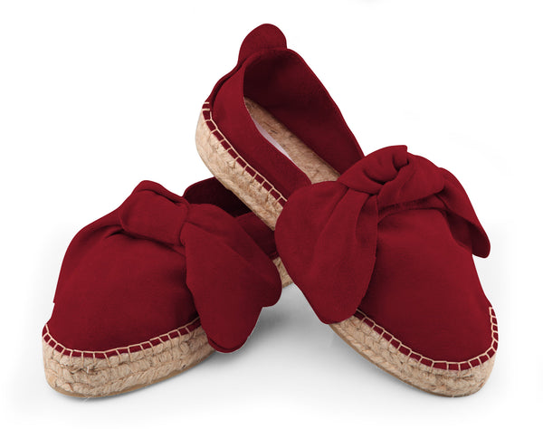 M-ISHKA Royal Red Double Sole Espadrilles - Grom & Kakao