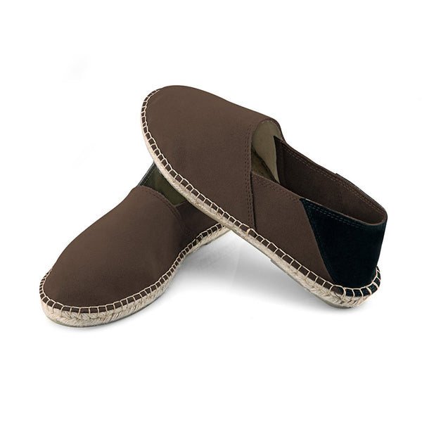 M-ISHKA Brown Men's Espadrilles - Grom & Kakao