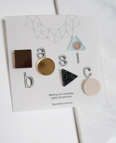 Basic Pins Set - Gold
