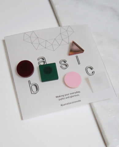 Basic Pins Set - Green