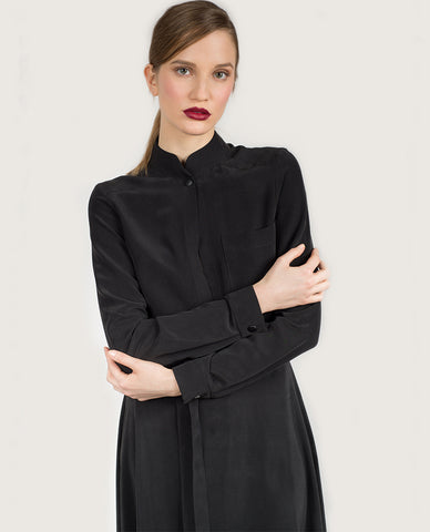 Koko Viscose Dress - Black