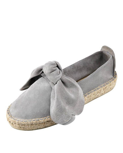 M-ISHKA Light Grey Double Sole Espadrilles - Grom & Kakao