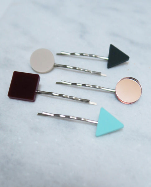 Basic Hair Pins - Mint