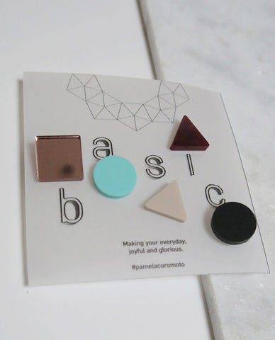 Basic Pins Set - Mint