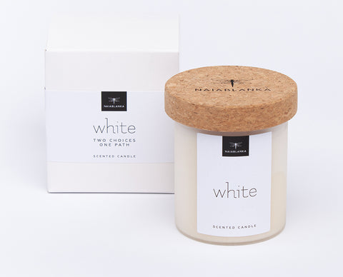 Aromatherapy Candle White Limited Edition
