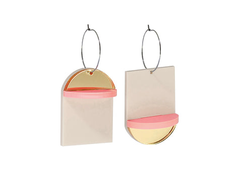 PAMELA COROMOTO Popova Earrings Candy - Grom & Kakao