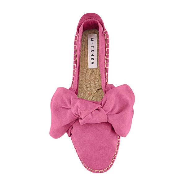 M-ISHKA Passion Pink Double Sole Espadrilles - Grom & Kakao