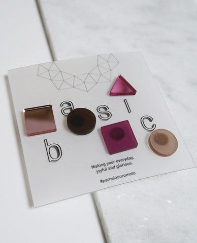 Basic Pins Set - Pink