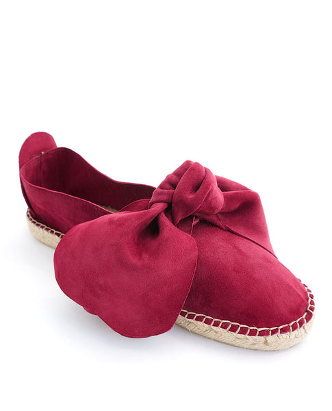 M-ISHKA Royal Red Espadrilles - Grom & Kakao