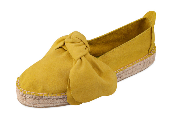 M-ISHKA Yellow Double Sole Espadrilles - Grom & Kakao