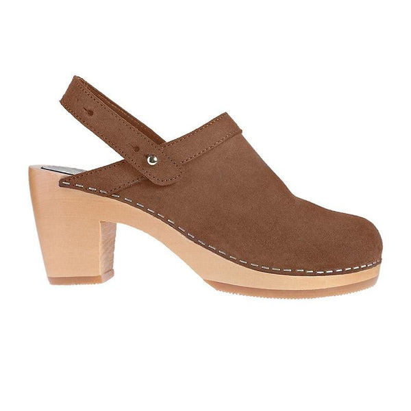 M-ISHKA Blossom Brown Clogs - Grom & Kakao