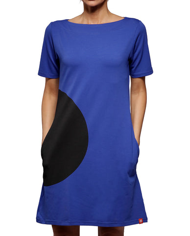 Bubble Dress - Royal Blue