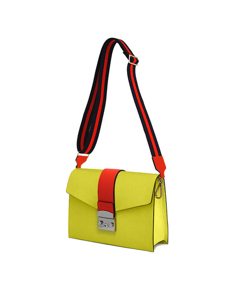 OTENBERG Yellow shoulder bag - Grom & Kakao