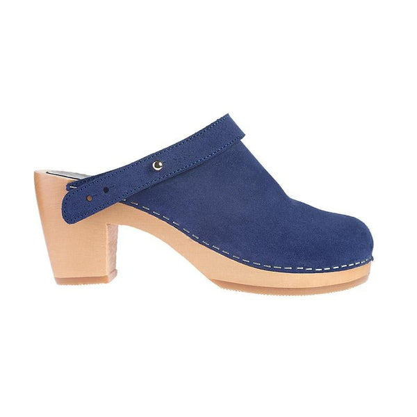 M-ISHKA Blossom Royal Blue Clogs - Grom & Kakao