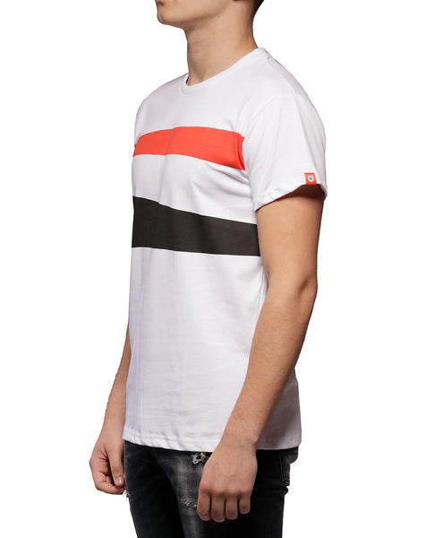 Stripes White/Red