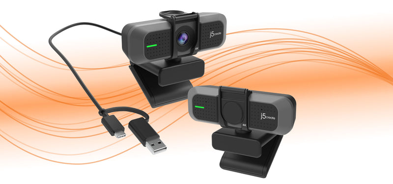 Introducing j5create's Newest 4K Ultra HD Webcam