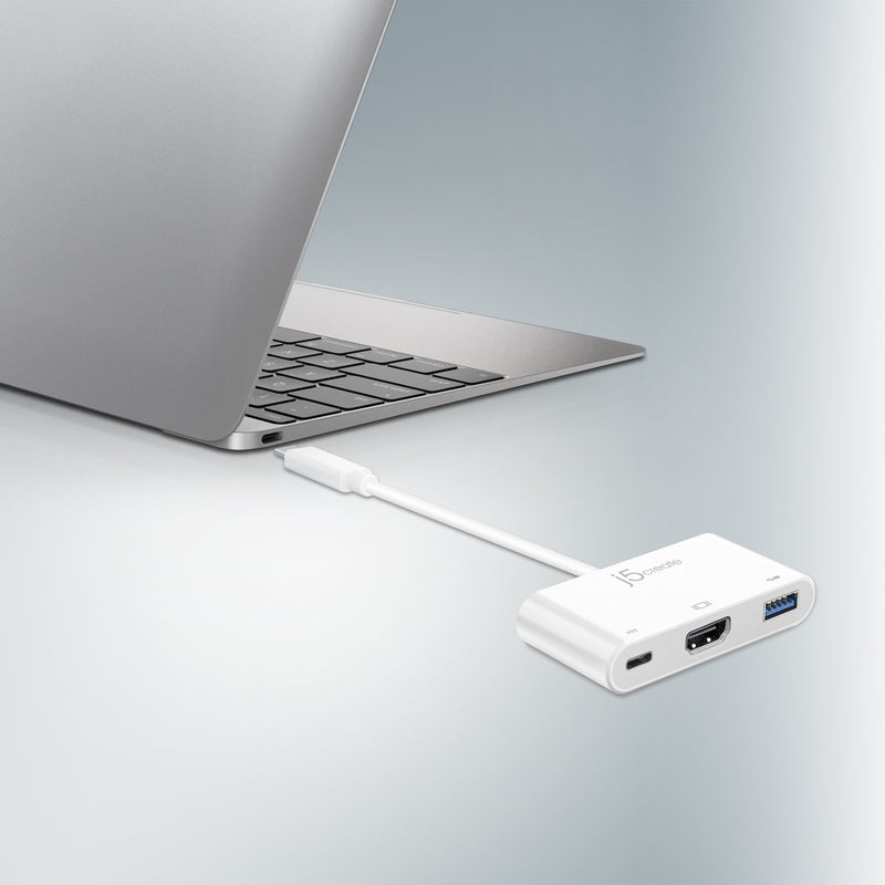 JCA379 USB™ Type-C to HDMI™ & USB™ 3.0 with Power Delivery