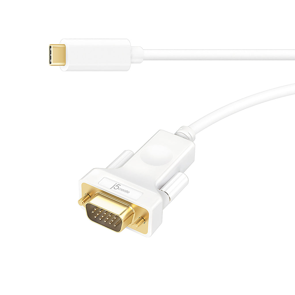 JCC111 USB-C™ to VGA Cable