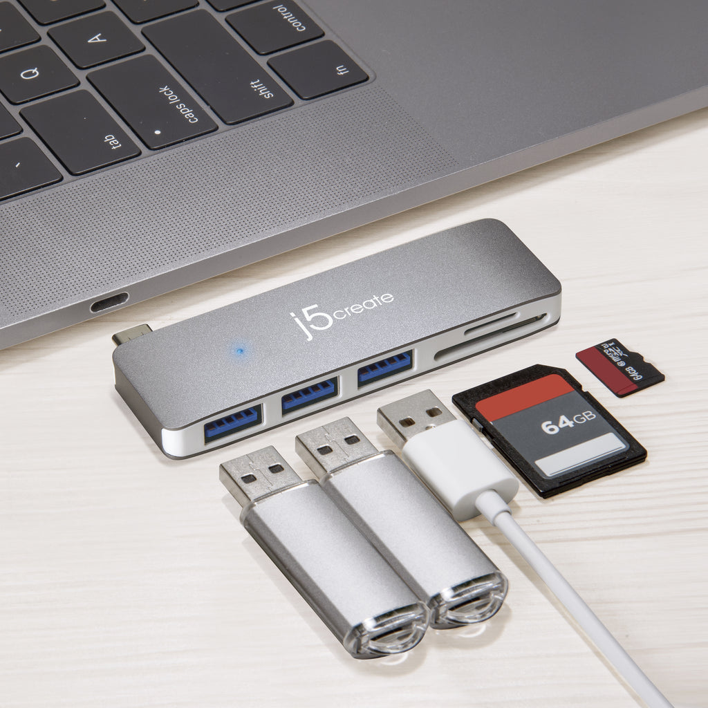 JCD348 USB-C<sup>™</sup> 5-in-1 UltraDrive Mini Dock<sup>™</sup>