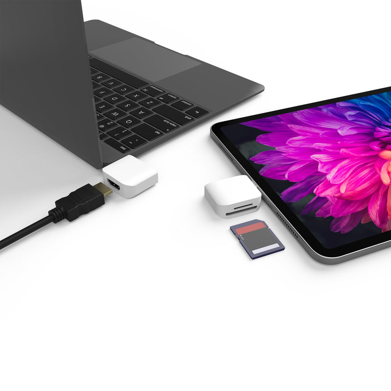 JCD387 ULTRADRIVE Kit USB-C™ Dual-Display Modular Dock - Perfect for MacBook® / MacBook Air® / MacBook Pro®