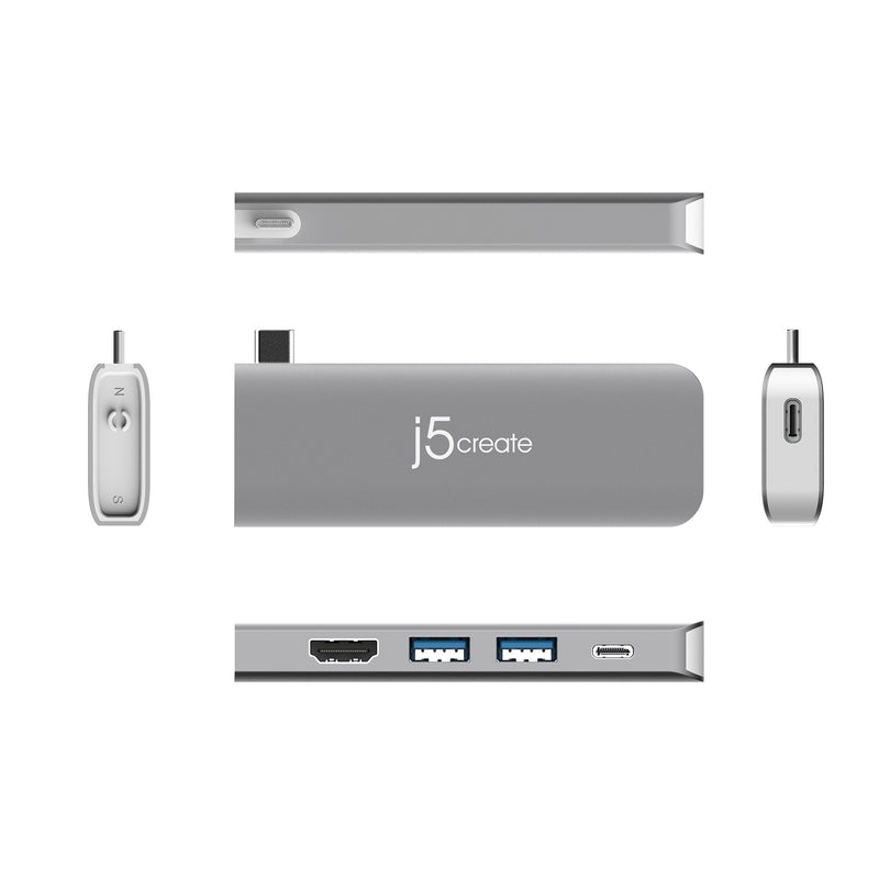 JCD389 ULTRADRIVE KIT USB-C™ Modular Mini Dock 11-in-1