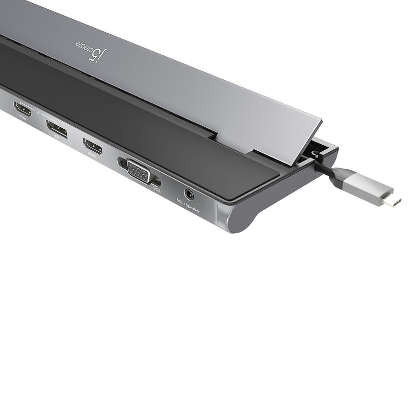 JCD543 USB-C™ Triple Display Docking Station