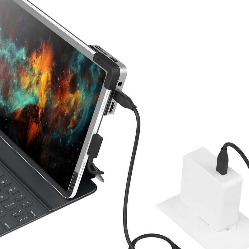 JCD612 USB-C™ to 4K 60 Hz HDMI™ Travel Dock for iPad Pro®