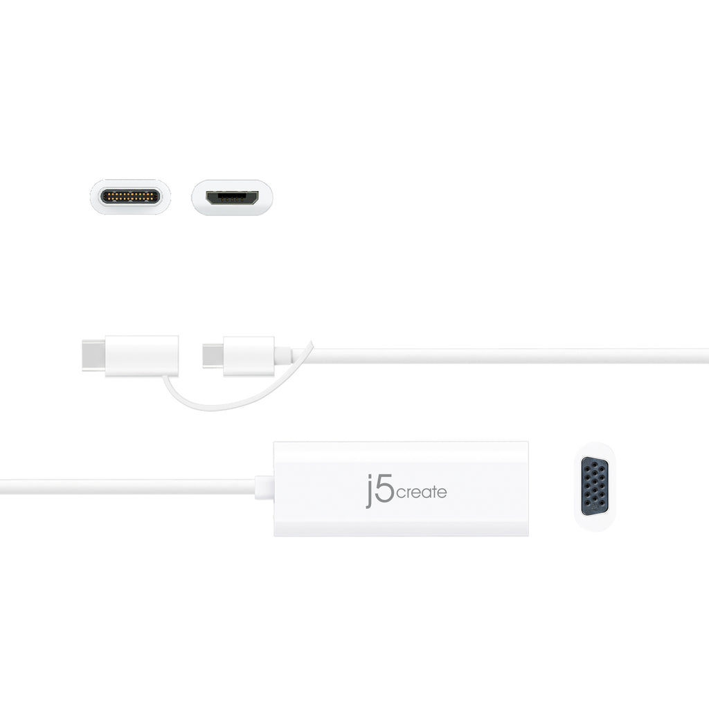 JUA161C Android™ USB™ to VGA Display Adapter