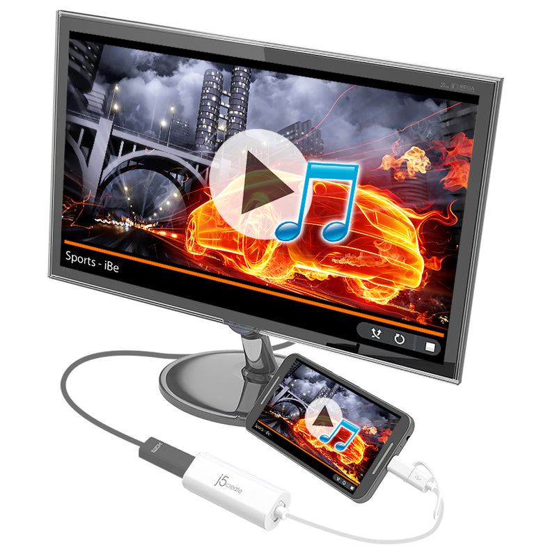 JUA165C Android™ USB™ to HDMI™ Display Adapter