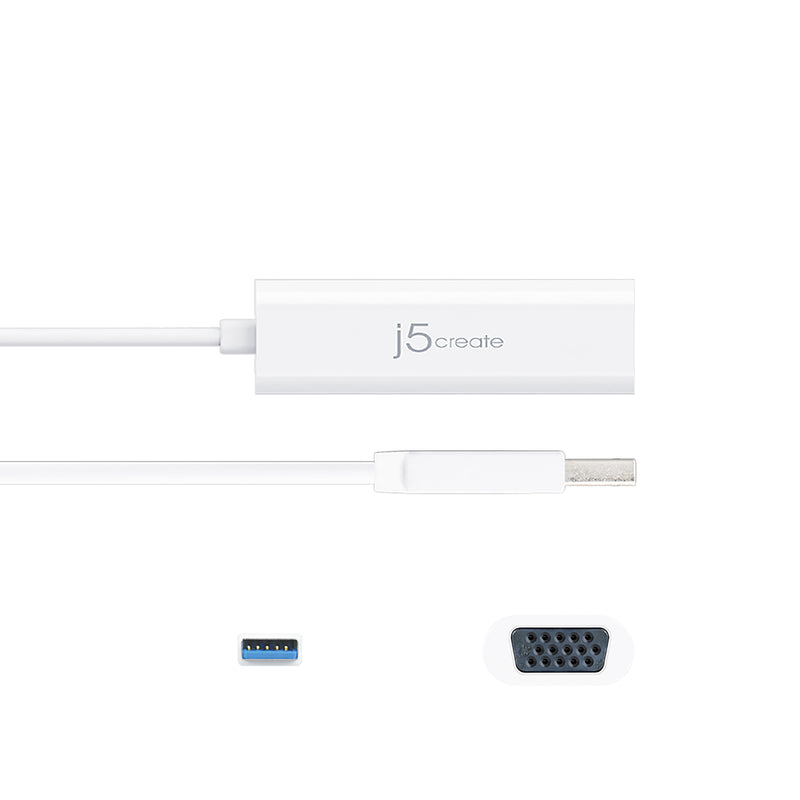 JUA214 USB™ 3.0 VGA Multi-Monitor Adapter
