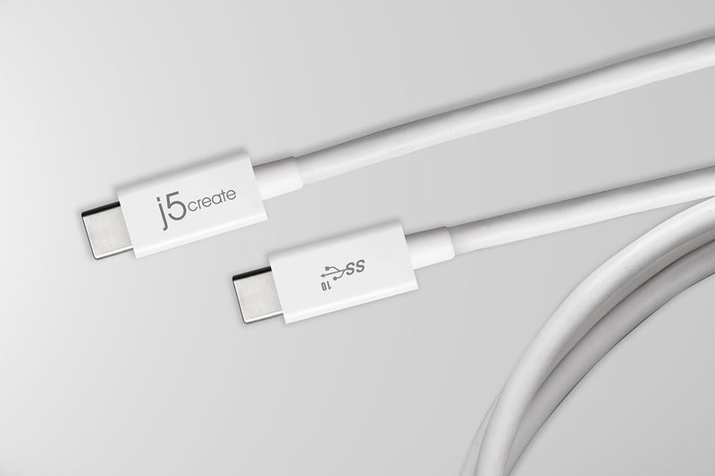 JUCX01 USB Type-C™ 3.1 to USB Type-C™ Coaxial Cable