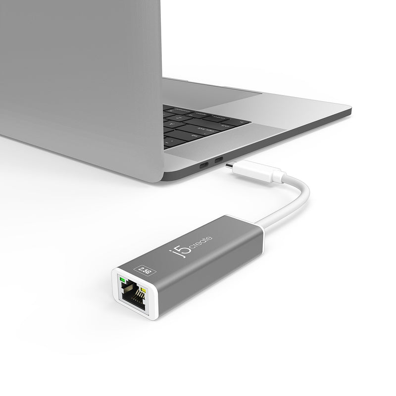 JCE145 USB-C™ to 2.5G Ethernet Adapter