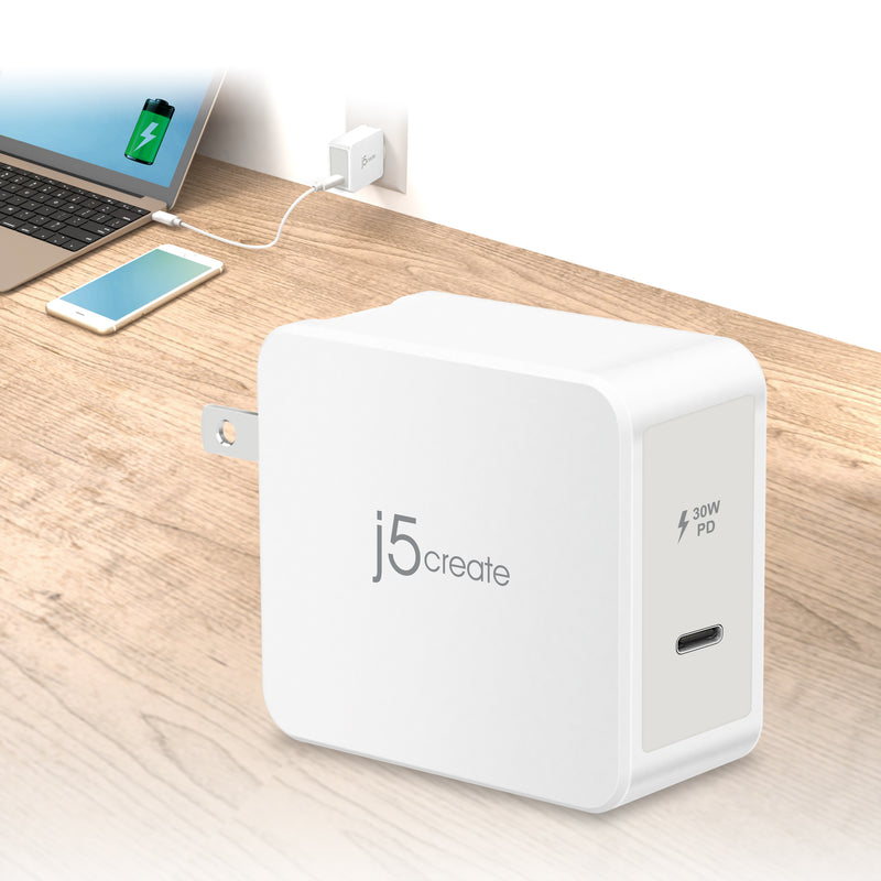 JUP1230 30W PD USB-C™ Wall Charger