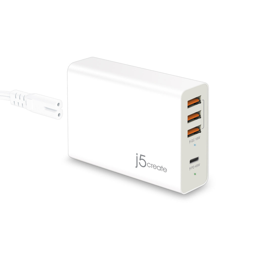 JUP4263 63W PD USB™ 4-Port PD Super Charger