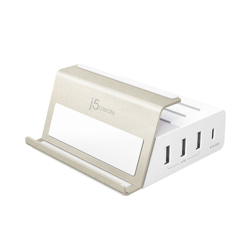 JUP4275 4-Port PD Super Charging Station