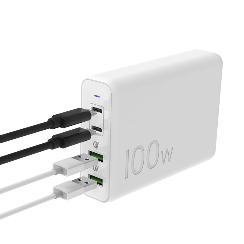 JUP44100 100W 4-Port PD USB-C™ Super Charger