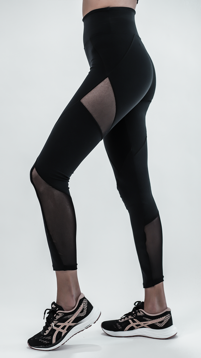 High-Waist Black Emma Legging L787