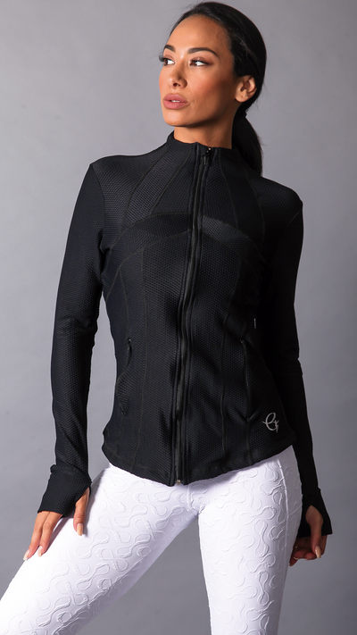 BLACK ISIS JACKETS J808 - Equilibrium Activewear